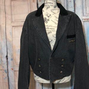 Levi's Denim Blazer Cut Grand Silver Medal Jacket